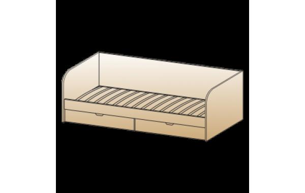 Кровать КР-117 (0,9х1,9)