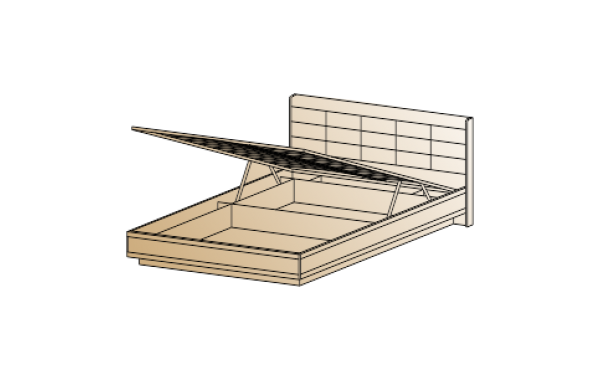 Кровать КР-1853 (1,6х2,0)