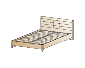 Кровать КР-2071 (1,2х2,0)