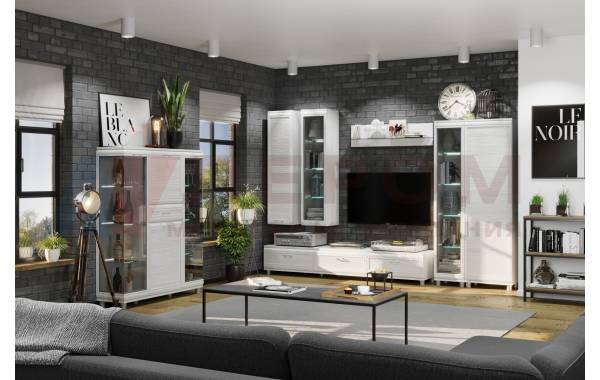 Гостиные Мелисса 2021 - Мелисса 2021 композиция 6 | ЛЕРОМ™